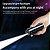 Box Simply: Mini Fone de Ouvido sem Fio - Bluetooth - Carregador com Visor Led - Lanterna - A prova d'água - 3 Cores - Frete Grátis - Imagem 9