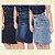 -Evangelys-: Kit 3 Saias Evangélicas em Jeans - Social - Cintura Alta - Até GG - Imagem 1
