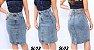 -Evangelys-: Kit 3 Saias Evangélicas em Jeans - Social - Cintura Alta - Até GG - Imagem 4