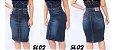 -Evangelys-: Kit 3 Saias Evangélicas em Jeans - Social - Cintura Alta - Até GG - Imagem 3