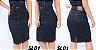 -Evangelys-: Kit 3 Saias Evangélicas em Jeans - Social - Cintura Alta - Até GG - Imagem 2