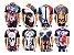 Kit com 10 Camisetas Masculinas em Algodão - 44 Estamapas - Tamanho Até GG - Envio Imediato - Imagem 3