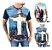 Kit com 10 Camisetas Masculinas em Algodão - 44 Estamapas - Tamanho Até GG - Envio Imediato - Imagem 6
