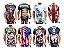 Kit com 10 Camisetas Masculinas em Algodão - 44 Estamapas - Tamanho Até GG - Envio Imediato - Imagem 2