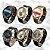 -Skynetshop-: Kit com 6 Relógios Masculinos - Pulseira em Couro - 2 Baterias - Pronta Entrega - Imagem 1