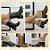 Bota Dubay Forrada em Pele - Duas Posições - Salto Conforto Quadrado -  Marrom ou Preta - Antiderrapante - Num. 35 a 39 - Imagem 1
