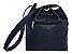 Kit com 3 Bolsas Saco Jeans Pequenas - Alça Transversal - Bolso Traseiro - Detalhes em Couro - 4 Cores  - Imagem 6