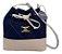 Kit com 3 Bolsas Saco Jeans Pequenas - Alça Transversal - Bolso Traseiro - Detalhes em Couro - 4 Cores  - Imagem 5