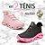Kit com 2 Pares de Tênis Femininos Limited  + 2 Relógios -  Caminhada/Corrida - 3 Cores - Tam: 34 a 39 - Imagem 1