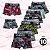 Kit com 10 Cuecas Infantil Boxer - Estampadas - Tamanho: Até 6 anos - Imagem 1