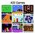 Mini Video Game Retrô Portátil Sup Standard - 400 Jogos do Super Nintendo  - Imagem 2