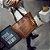 Bolsa Trek - Alça de mão e ombro em couro entrelaçado - Com Divisória - 4 Cores - Frete Grátis - Imagem 4