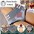 """Kit com 3 Calcinhas  """"Heart"""" Modeladora - Cintura Alta - Compressão - P/M/G - Frete Grátis - Imagem 1"""