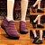 Sapato BJ Forrado em Pele - Antiderrapante - Impermeável - Linha Conforto - 4 Cores - Até 39 - Frete Grátis - Imagem 1