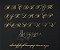 Manuscrito - Alfabeto Cursiva B07 - Imagem 1