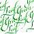 Tinta Para Caligrafia Winsor & Newton Leaf Green 30ml - Imagem 2