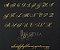 Manuscrito - Alfabeto Cursiva - B01 - Imagem 1