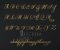 Manuscrito - Alfabeto Cursiva - B02 - Imagem 1