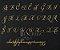 Manuscrito - Alfabeto Cursiva - B05 - Imagem 1