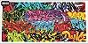 Adesivo Case Grafite 2 MOD-9 - Imagem 1