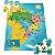 Mapa do Brasil - Quebra-Cabeça - 100 peças - Imagem 1