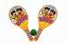 Raquetes Frescobol + Bolinha - Imagem 1