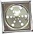 Grelha Quadrada com Caixilho 10cm  de Inox - Imagem 1
