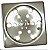 Grelha Quadrada sem Caixilho 10cm de Inox - Imagem 1