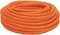 Eletroduto Corrugado Flexível Reforçado Laranja Amanco - Imagem 1