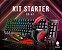KIT GAMER STARTER LED MOUSE / TECLADO / HEADSET / PAD – EG-51 - EVOLUT COMBO - Imagem 7
