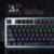 Teclado Gamer Evolut Mecânico Blacksmith LED RGB Blue EG-208 - Imagem 3
