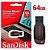PEN Drive Sandisk Cruzer Blade 64gb USB 2.0 Preto - Sdcz50-064g-b35 - Imagem 1