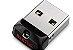 PEN Drive Sandisk Cruzer FIT 64gb USB 2.0 Preto - Sdcz33-064g-g35 - Imagem 2
