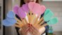 Kit 3pcs, Espátula, Colher e Colher coração de Silicone Azul - Imagem 2