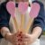 Kit 3pcs, Espátula, Colher e Colher coração de Silicone Rosa - Imagem 1