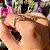 ANEL HELOISE l Maleável Zircônias Brancas e Banho de Ouro 18K - Imagem 3