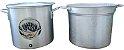 Conjunto Panela + Cesto de alumínio 22 litros - Imagem 3