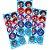 Adesivo Decorativo Redondo Authentic Games - 3 cartelas - Imagem 1