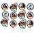 Palitos Decorativos Moana - 12 unidades - Imagem 1