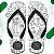Chinelo com Estampa Personalizada - Brinde Personalizado Ideal para Festa de Casamento e Eventos. - Imagem 1