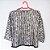 Kimono Preto e Branco - Tam M - Imagem 2