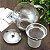 Bule Chaleira c/ Infusor em Vidro e Aço Inox 700 ml - Imagem 4