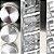 Kit 12 Porta Condimentos em Vidro e Inox c/ Base Giratória - Imagem 2