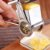Ralador Alimentos Queijo Presunto Inox Profissional Manivela - Imagem 5