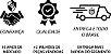 CAMISETA STYLE KING BRASIL - RUNNING BRANCA/DOURADO - Imagem 6