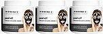 Mascara Peel-off Carvão Ativado 250g Hidramais - 3 Unidades - Imagem 1