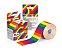 Fita Bandagem Kinesio Tape Tmax Pop Original Arco Iris - Imagem 1
