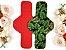 Ciclo Denso Costela de Adão - Absorvente Ecológico Reutilizável de Tecido 100% Algodão - Imagem 2