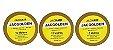 Kit 3 Fitas Amarela que Não Mela 10 metros + Removedor 100mL - Imagem 1