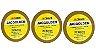 Kit 3 Fitas Amarela que Não Mela 20 metros + Removedor 100mL - Imagem 1